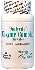 Dialyvite Enzyme Complex Chewable HP 155