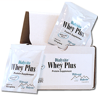 Dialyvite Whey Plus protein supplement